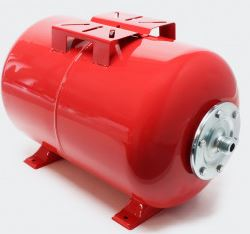 "2401001 Tanque presurizado 24L acero al carbon, 1.0mm ,EPDM membrane,G 1"""