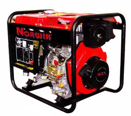 2401002 Generador Diesel , Potencia nominal: 2.0kw, Salida Maxima: 2.2kw, 120v/240v/60hz